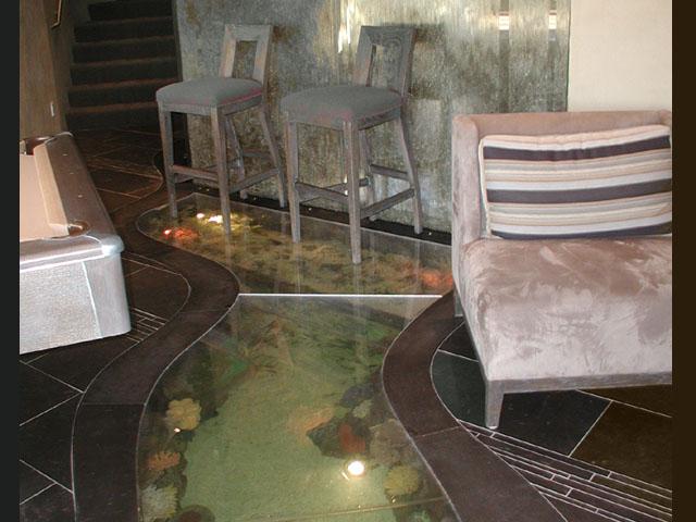 Photo gallery arizona fish guy custom marine aquaria for Floor fish tank